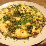 Easy Frittata Recipe (Sweet onion, spinach & feta)