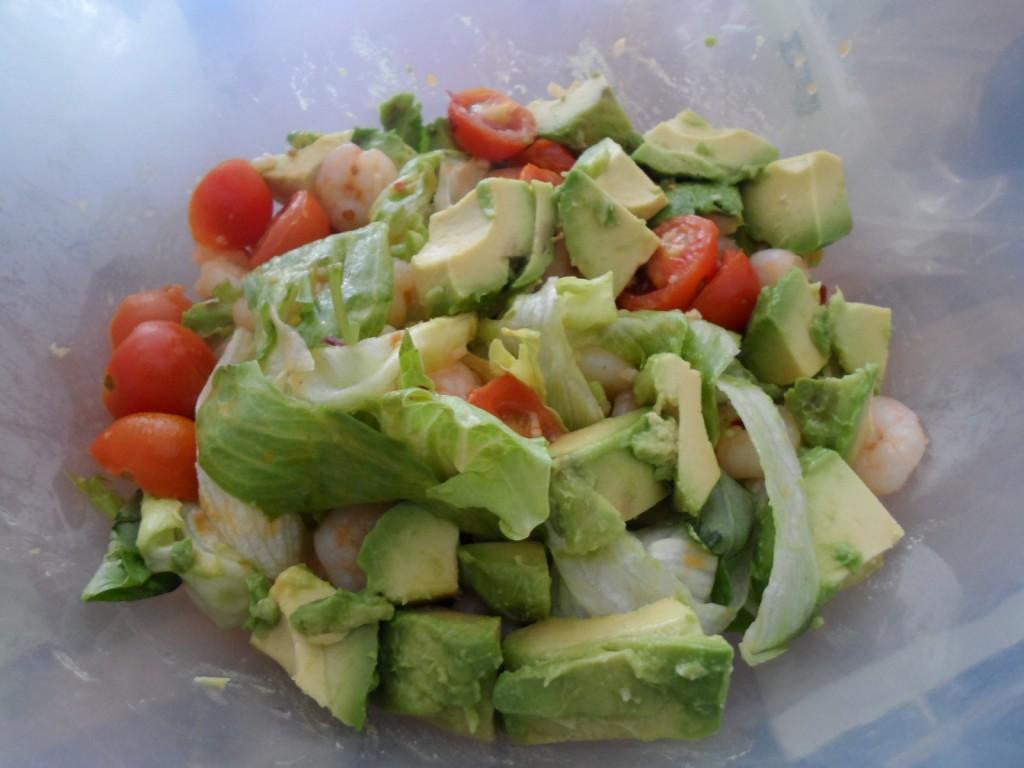 Assembled Salad
