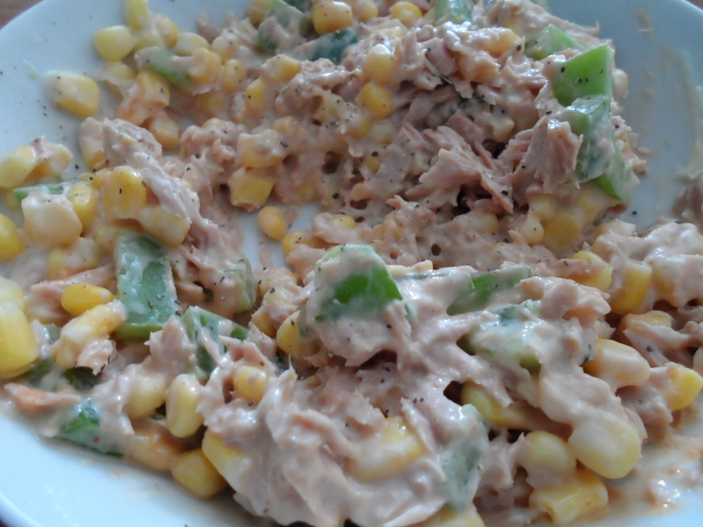 tuna mayo mix