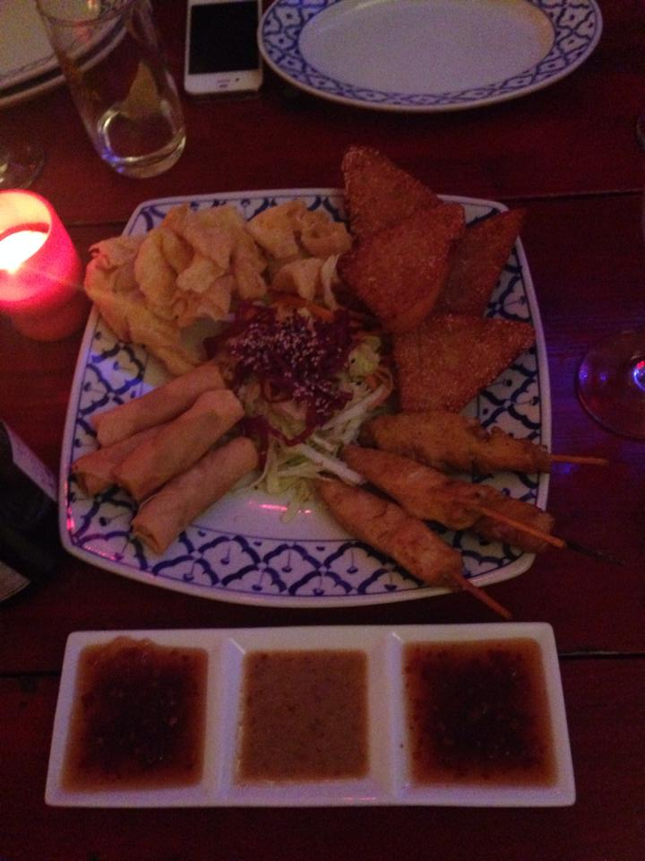 Thai mixed starters