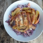 Pork and apple slaw recipe