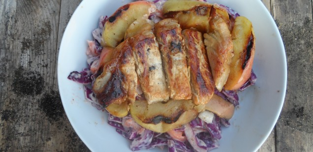 Pork and apple slaw recipe
