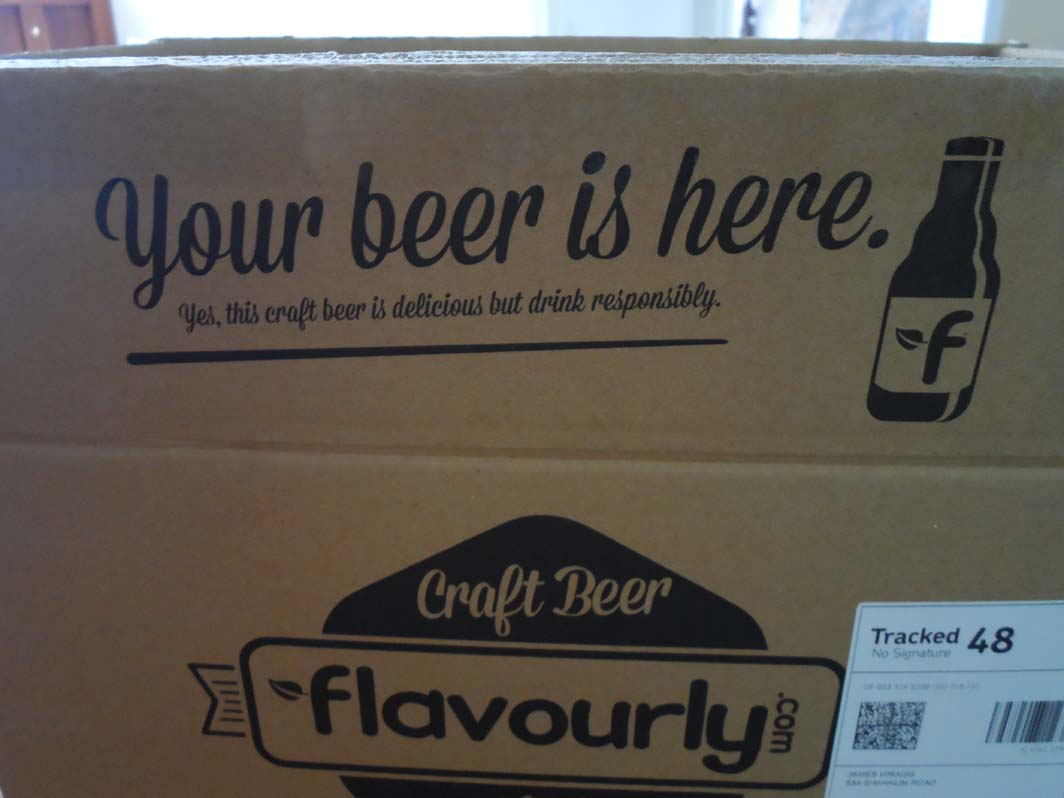 Flavourly Club Craft Beer Delivery Pre- Unboxing